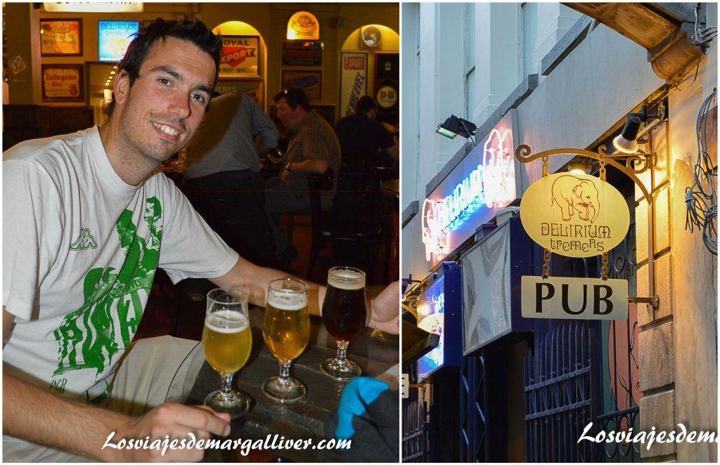 Delirium Café en Bruselas - Los viajes de Margalliver